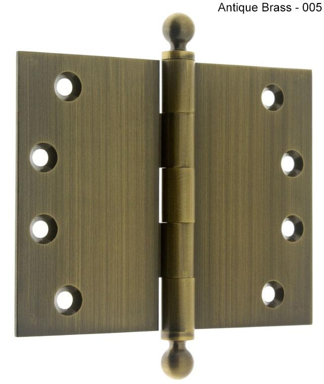 door throw 4 x 5 wide throw ball tip hinge