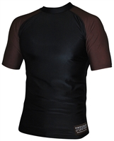 Toro brown belt rash guard