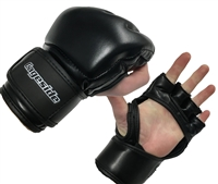 Black MMA Gloves Cage Legal
