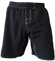 Cageside blank black fight shorts