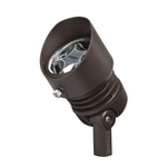 Kichler 16007BBR30 LED Flood Light, 6.5W 12V - 3000K - Bronzed Brass