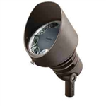 Kichler 16014AZT27 LED Flood Light, 21W 12V Wide - 2700K - Textured Architectural Bronze
