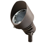 Kichler 16203AZT30 LED Flood Light, 19.5W Design Pro 120V - 3000K - Textured Architectural Bronze