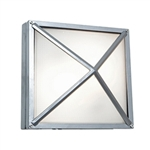 Access Lighting - Oden Wet Location Wall Fixture - 20330LED-SAT-FST