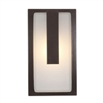 Access Lighting - Neptune Wet Location Wall Fixture - 20333LEDMG-BRZ-RFR