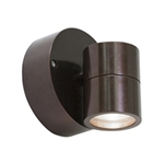 Access Lighting - KO Wet Location Spotlight - 20350MGLED-BRZ-CLR