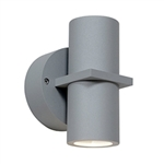 Access Lighting - KO Wet Location Spotlight - 20352MGLED-SAT-CLR