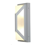 Access Lighting - Nyami Wet Location Wall Fixture - 20370MGLED-SAT-FST