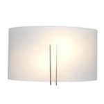 Access Lighting - Prong Wall Fixture - 20447LED-BS-WHT