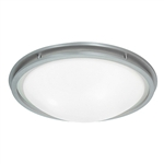 Access Lighting - Aztec Flush Mount - 20457LED-BS-WHT