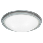 Access Lighting - Aztec Dimmable Flush Mount - 20458LEDD-BS-WHT