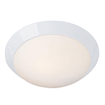 Access Lighting - Cobalt Dimmable Flush Mount - 20626LEDD-WH-OPL