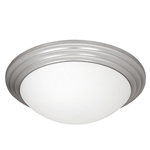 Access Lighting - Strata Dimmable Flush Mount - 20652LEDD-BS-OPL