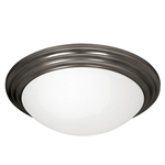 Access Lighting - Strata Dimmable Flush Mount - 20652LEDD-ORB-OPL