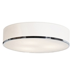 Access Lighting - Aero Dimmable Flush Mount - 20672LEDD-CH-OPL