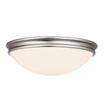 Access Lighting - Atom Flush Mount - 20724LED-BS-OPL
