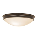 Access Lighting - Atom Flush Mount - 20724LED-ORB-OPL