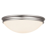 Access Lighting - Atom Flush Mount - 20725LED-BS-OPL