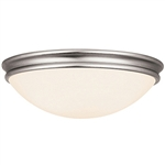 Access Lighting - Atom Dimmable Flush Mount - 20726LEDD-BS-OPL