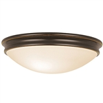 Access Lighting - Atom Dimmable Flush Mount - 20726LEDD-ORB-OPL