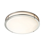 Access Lighting - Saloris Acrylic Flush Mount - 20740LED-BS-ACR