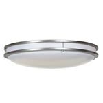 Access Lighting - Saloris Acrylic Dimmable Flush Mount - 20741LEDD-BS-ACR