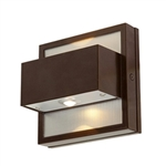 Access Lighting - ZyZx Wet Location Wallwasher - 23064MGLED-BRZ