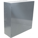 "Orbit 24244 Steel Enclosure, NEMA 1 Indoor w/Screw Cover - 24"" x 24"" x 4"""