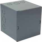 "Orbit 444 Steel Enclosure, NEMA 1 Indoor w/Screw Cover - 4"" x 4"" x 4"""
