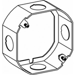 "Orbit 4RB-50-EXT Electric Box Extension Ring, 1 1/2"" Deep Welded Box w/1/2"" Knockouts - 4"" Octagonal"