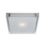 Access Lighting - Vision Flush Mount - 50031LED-BS-FST