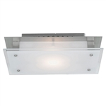 Access Lighting - Vision Flush Mount - 50033LED-BS-FST