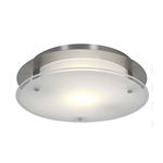 Access Lighting - VisionRound Flush Mount - 50037LED-BS-FST