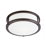 Access Lighting - Conga Flush Mount - 50079LED-BRZ-OPL