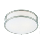 Access Lighting - Conga Flush Mount - 50080LED-BS-OPL