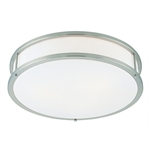 Access Lighting - Conga Dimmable Flush Mount - 50081LEDD-BS-OPL