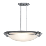 Access Lighting - Saturn Dimmable Pendant - 50090LEDD-BS-FST
