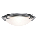 Access Lighting - Saturn Dimmable Flush Mount - 50093LEDD-BS-FST