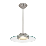 Access Lighting - Phoebe Semi-Flush or Pendant - 50441LED-BS-8CL