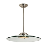 Access Lighting - Phoebe Semi-Flush or Pendant - 50444LED-BS-8CL