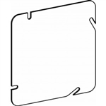 "Orbit 5BC Electric Box Cover, Flat Blank Steel - 5"" Square"