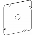 "Orbit 5BCK Electric Box Cover, Flat 1/2"" Knockout Steel - 5"" Square"
