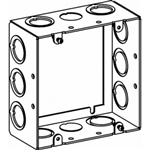 "Orbit 5SDB-MKO-EXT Electric Box Extension Ring, 2 1/8"" Deep w/MKO Knockouts - 5"" Square"