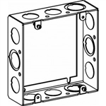 "Orbit 5SSB-MKO-EXT Electric Box Extension Ring, 1 1/2"" Deep w/MKO Knockouts - 5"" Square"