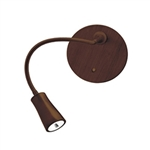 Access Lighting - Epiphanie Gooseneck Wall Lamp - 70003LED-BRZ