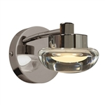 Access Lighting - Dewdrop Vanity - 70041LED-CH-CLFR