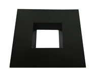 "CyberTech 6"" Recessed Light Square Trim in Bronze"