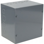 "Orbit 884 Steel Enclosure, NEMA 1 Indoor w/Screw Cover - 8"" x 8"" x 4"""