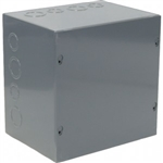 "Orbit 886 Steel Enclosure, NEMA 1 Indoor w/Screw Cover - 8"" x 8"" x 6"""