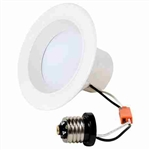 "CyberTech White 5-6"" Recessed LED Retrofit Downlight"
